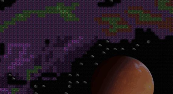 Drifting Souls II  Ausschnitt der Sternenkarte