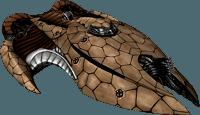 Drifting Souls II  Schwerer Kreuzer: GVC Mentu