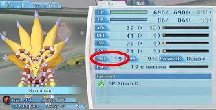 Das Potenzial entscheidet über die Zucht deiner Digimon