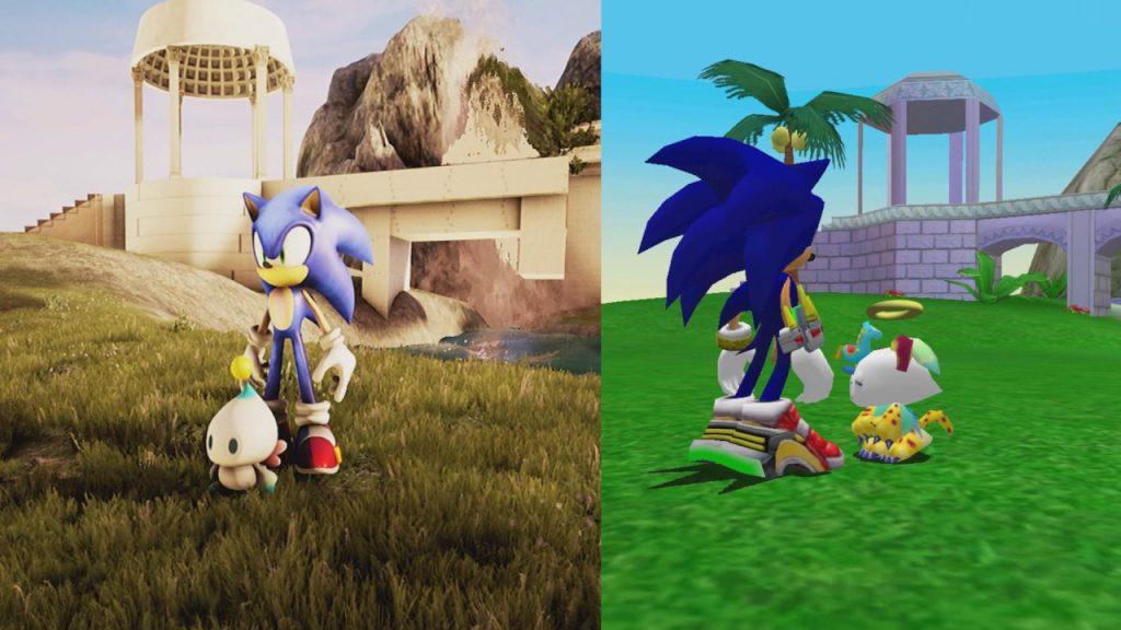Links in Unreal 4 Engine und rechts das Original