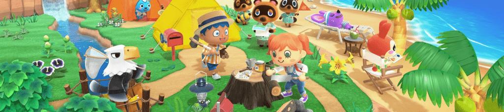 Animal Crossing New Horizons erschien für die Nintendo Switch am 20.03.2020!