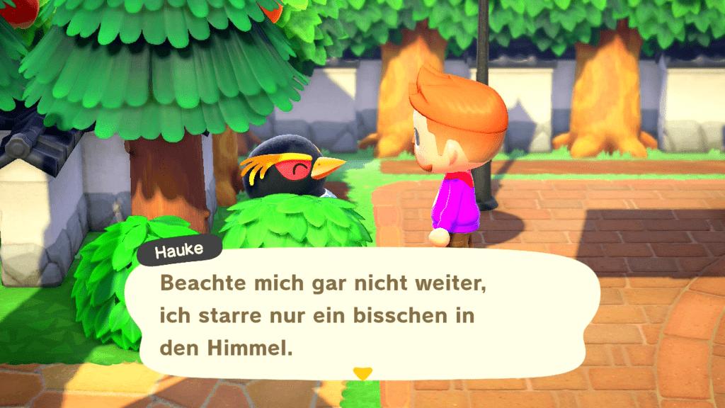 Animal Crossing New Horizons: Hauke sitzt im Blumenbeet? Das nenne ich mal ein rosiges Ereignis!