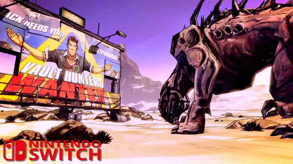 Borderlands: The Handsome Collection - Switch | Intro