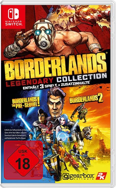 Boxart von Borderlands Legendary Collection der Nintendo Switch