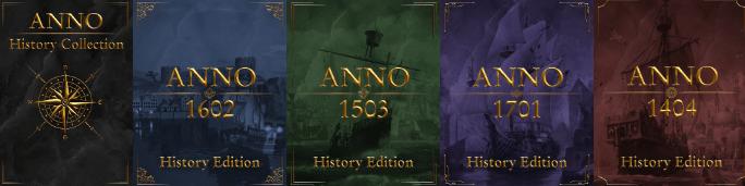 Ubisoft veröffentlicht die Anno History Collection für den PC!
