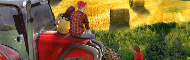Farmers Dynasty für die Nintendo Switch erhältlich. Ebenfalls auch für die PlayStation 4 und der Xbox One.