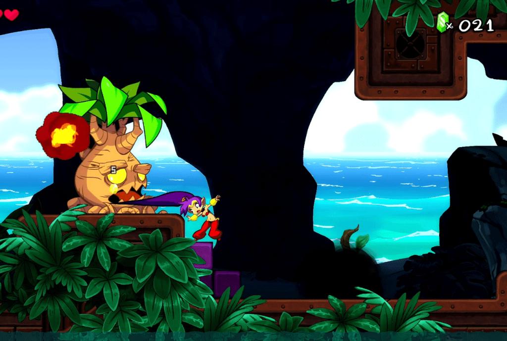 Shantae 5 - Haare um Bäume zu fällen, kein Problem