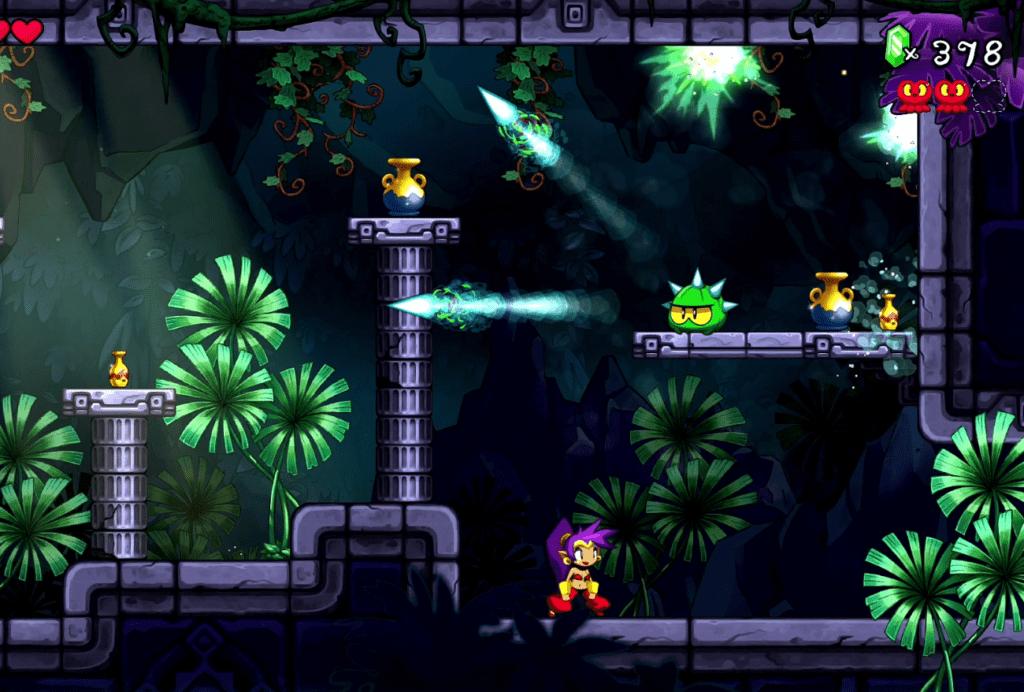 Shantae 5 - In Dungeons sind die Gefahren besonders herausfordernd