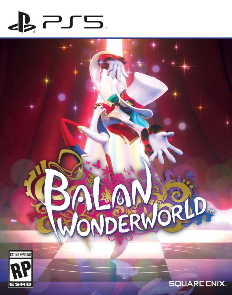 Logo von Balan Wonderworld mit Balan dem Hauptdarsteller