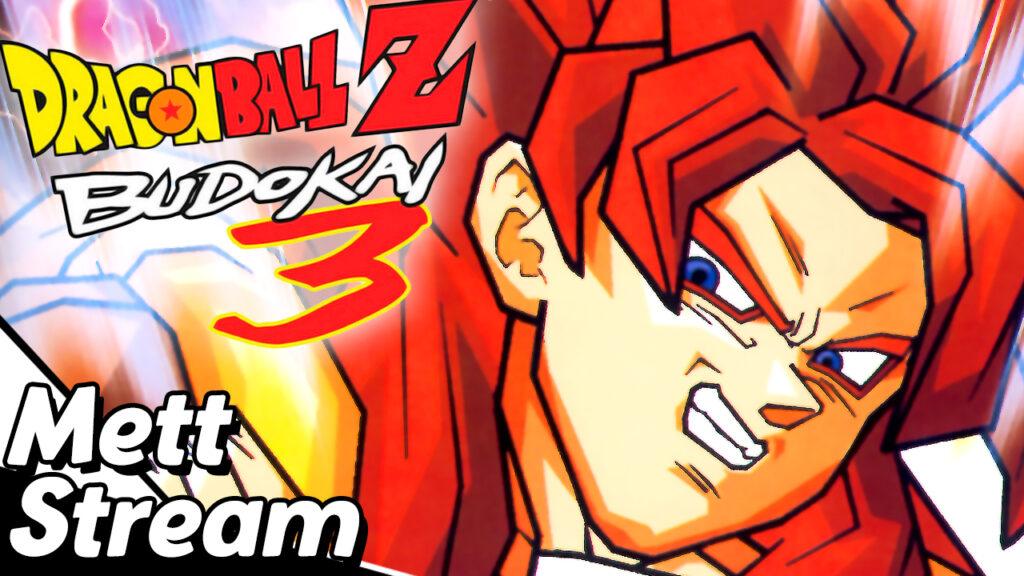 Thumbnail zum kommenden Livestream/Aufzeichnung zu Dragonball Z: Budokai 3